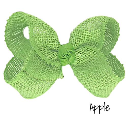 Apple Burlap