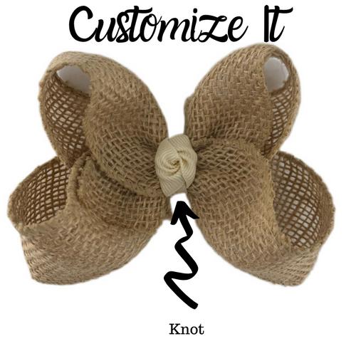 Burlap Custom