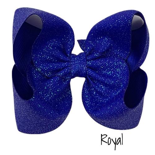 Royal Glitter Grosgrain