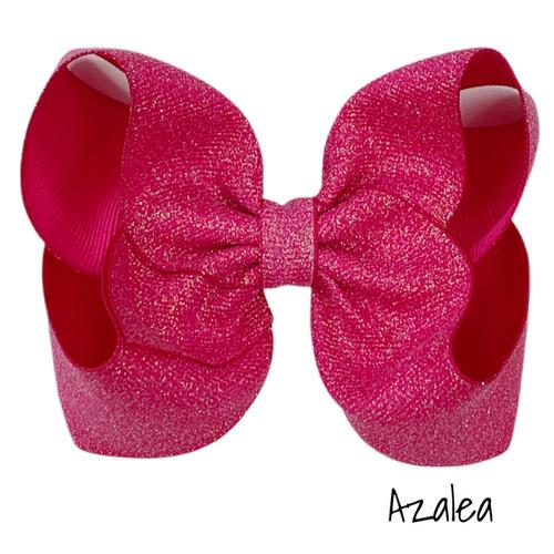 Azalea Glitter Grosgrain