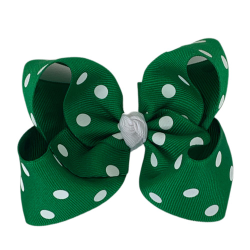 Emerald Polka Dot