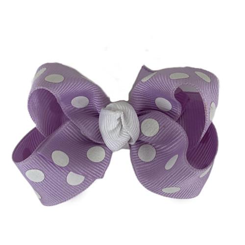 Lavender Polka Dot