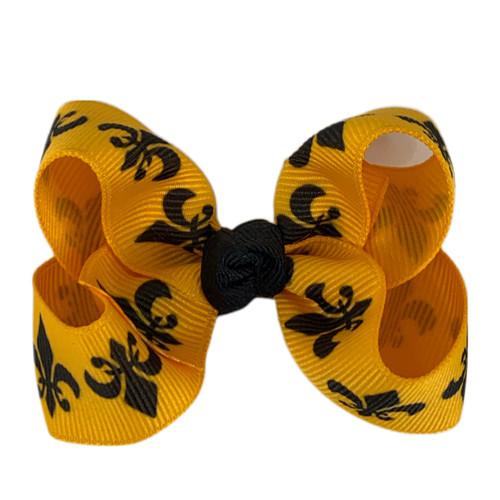 Yellow Gold De Lis
