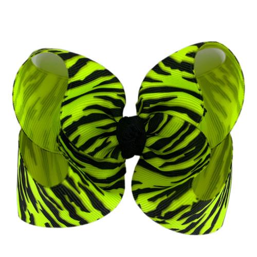 Neon Yellow Zebra