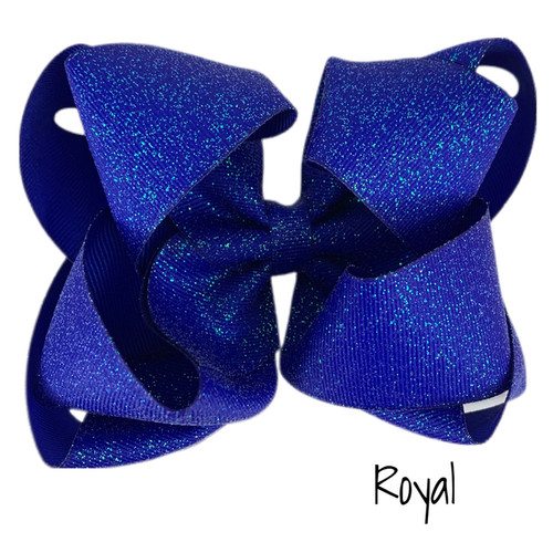 Royal Glitter Grosgrain Stack