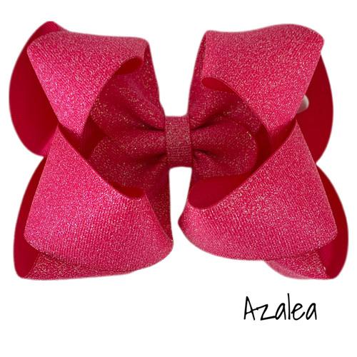 Azalea Glitter Grosgrain Stack