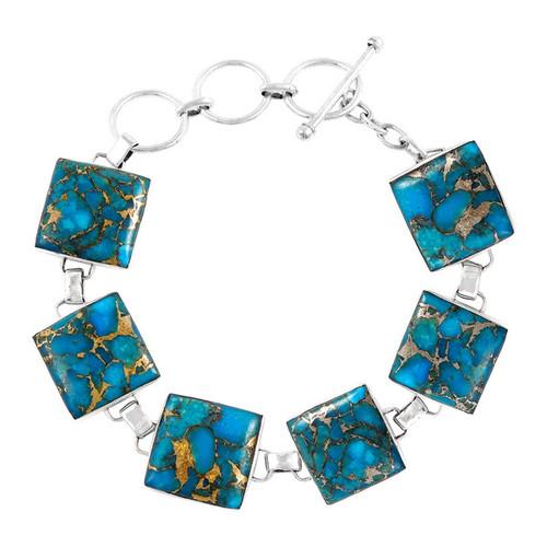 Matrix Turquoise Link Bracelet