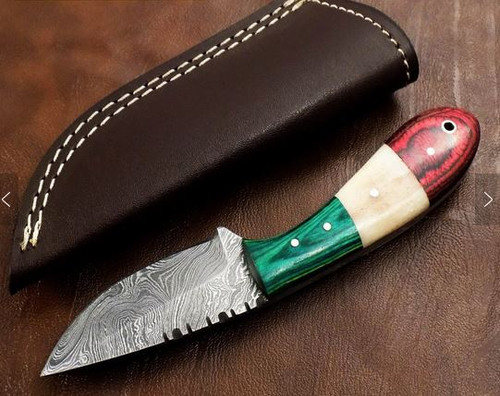 Custom Handmade Damascus Knife