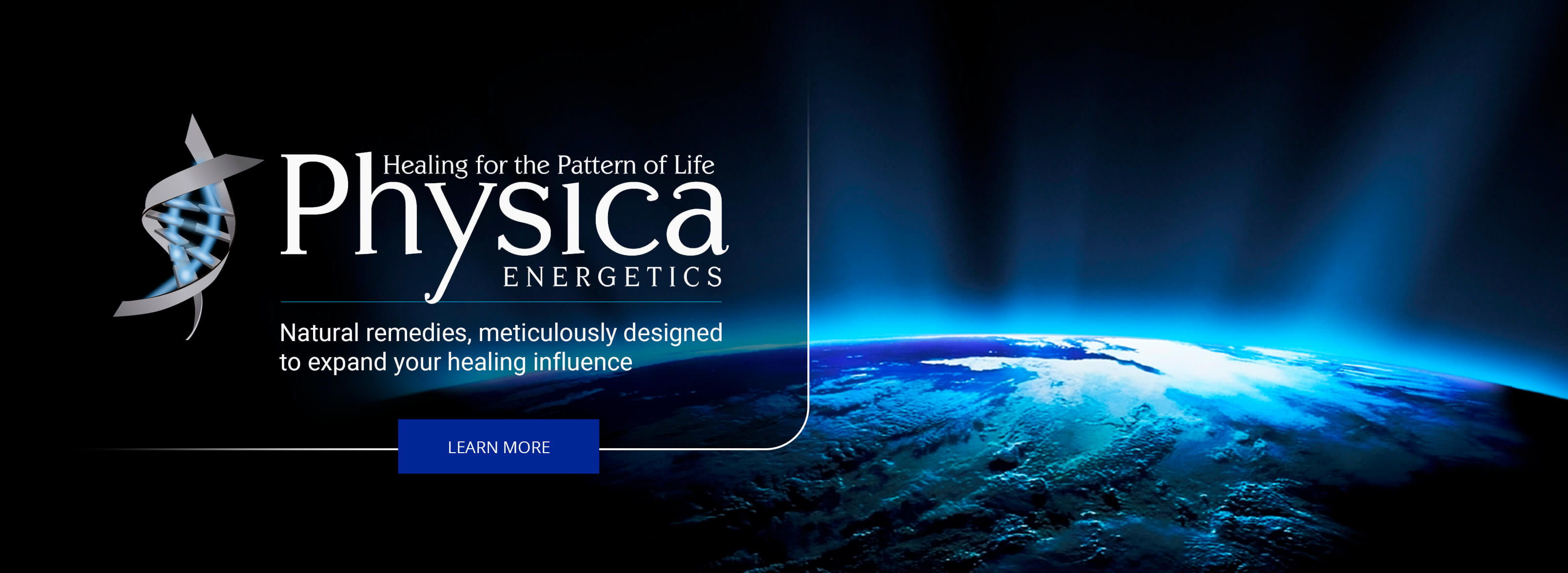 Physica Energetics Original Homepage Banner