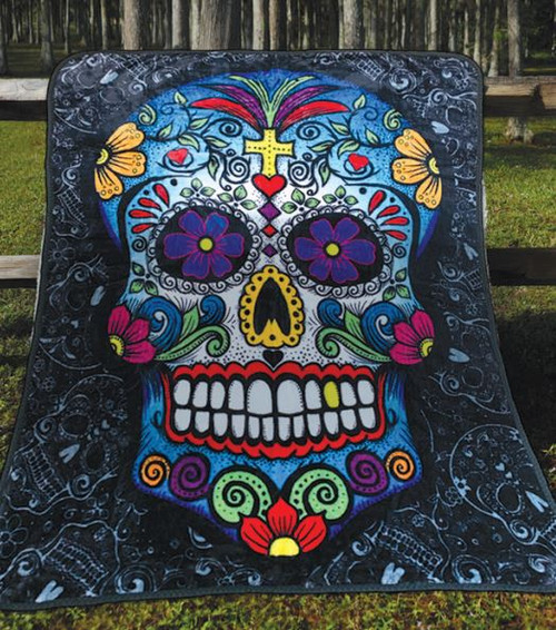 DAY OF THE DEAD THROW