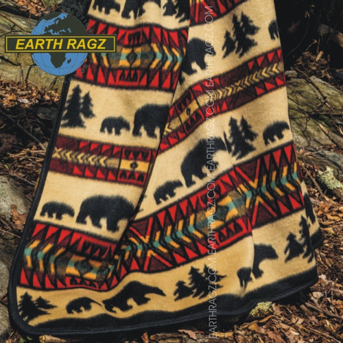 Bear Adventure Blanket