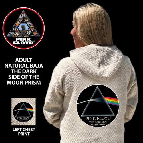 PINK FLOYD NATURAL BAJA THE DARK SIDE Of THE MOON CIRCLE