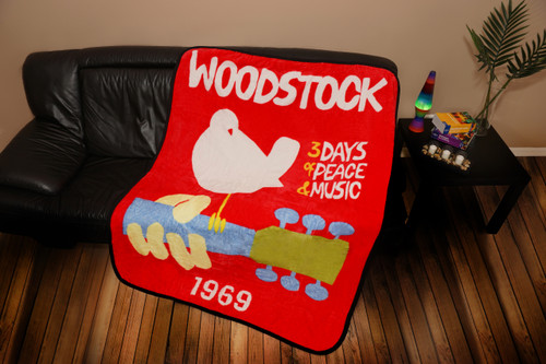 WOODSTOCK THROW 1969 POSTER