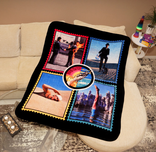 PINK FLOYD WISH YOU WERE HERE CORAL THROW