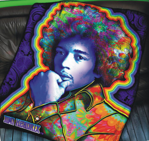 HENDRIX THROW PORTRAIT