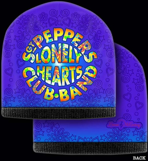 LENNON & MCCARTNEY BEANIE SGT PEPPER