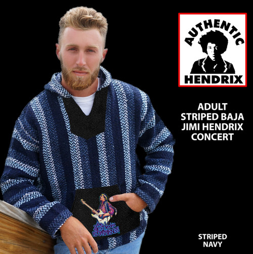 HENDRIX STRIPED BAJA CONCERT