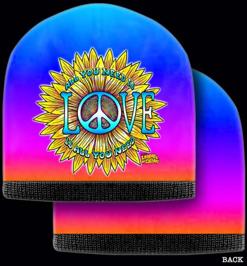 LENNON & MCCARTNEY  BEANIE ALL U NEED IS LOVE
