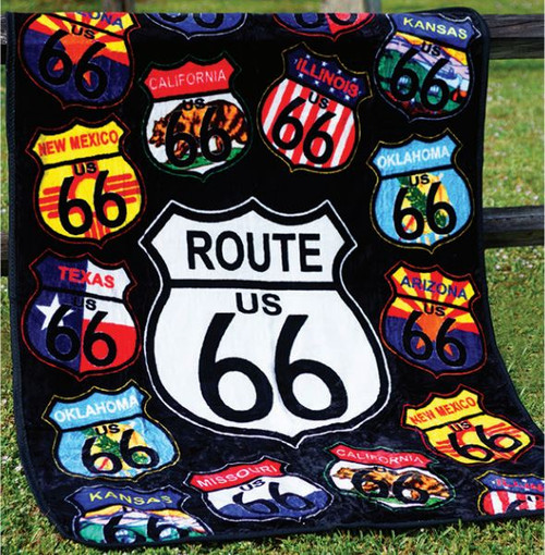 ROUTE 66 SIGNS THROW