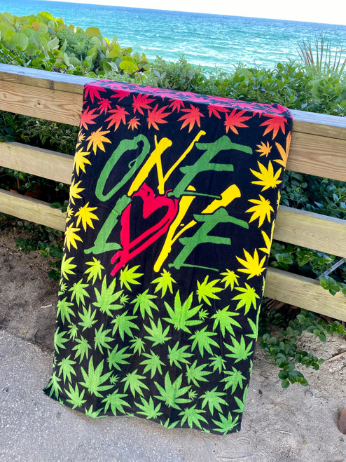420 TOWEL ONE LOVE 3