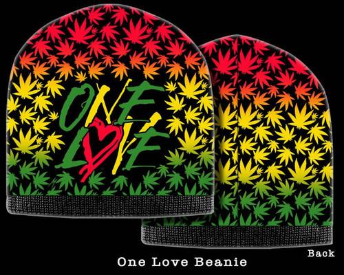420 BEANIE ONE LOVE