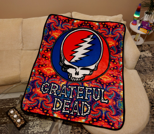 GRATEFUL DEAD THROW STEAL YOUR FACE FRACTAL