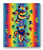 GRATEFUL DEAD THROW DANCING BEARS TIE DYE