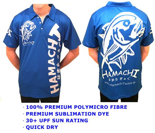 Hamachi Tackle Japan Short Sleeve Sublimated Fishing Shirt - All sizes