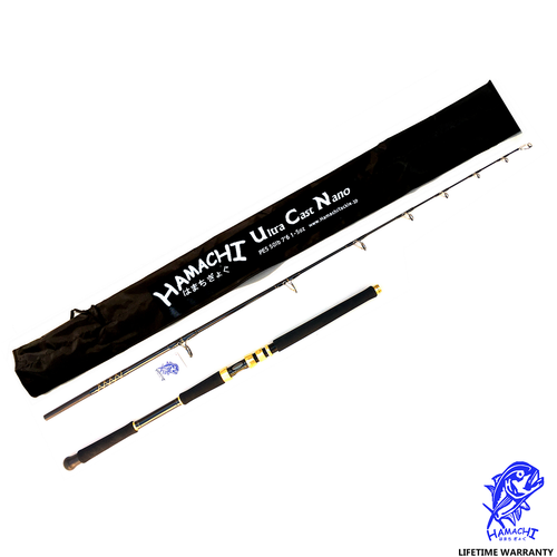 2018 Hamachi Nano Ultra Cast rod (Spin & Conventional)