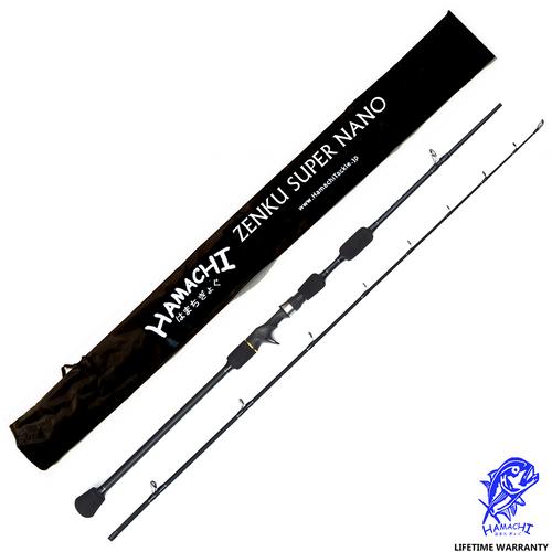 2018 Hamachi Zenku Super Nano rod ( Conventional / Casting)