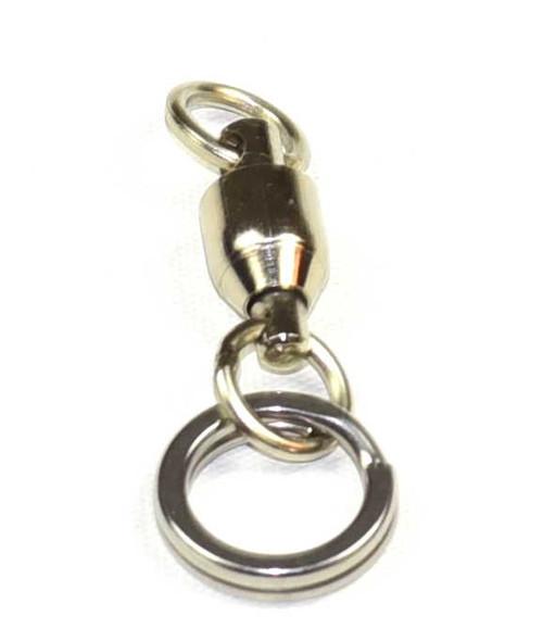 Hamachi Ball bearing split ring swivels 300lb