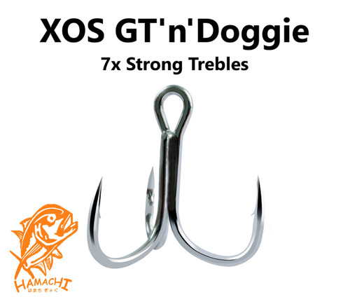 Hamachi 7x trebles 4 pack