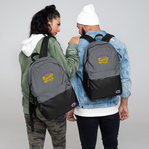Swamp Pop Embroidered Champion Backpack