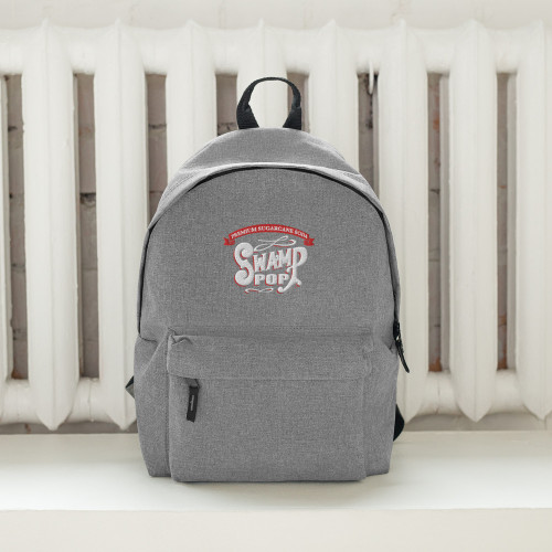 Swamp Pop Embroidered Backpack