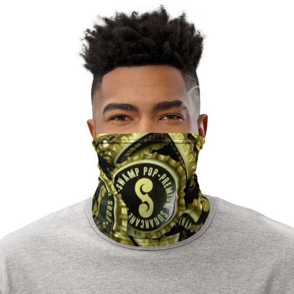 Swamp Pop™ Bottle Caps Neck Gaiter