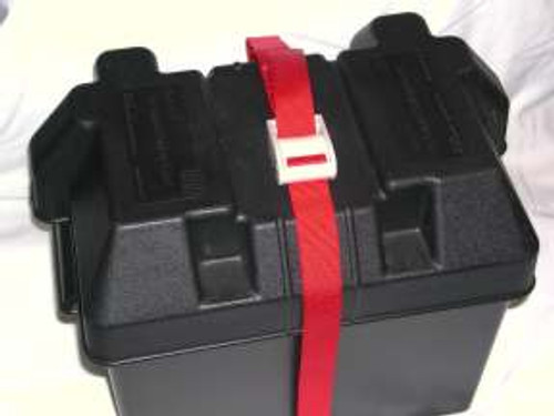 Load Lock Fastener Marine and RV Battery Tie Down Strap