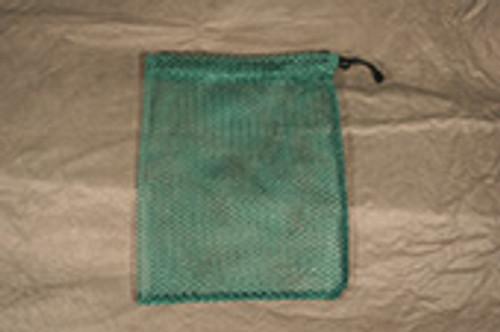 """Mesh Polyester Drawstring Bag, 3/8"""" Mesh Size"""