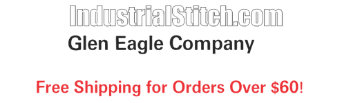 """IndustrialStitch.com by Glen Eagle Company Free Shipping on all orders over $60! Use coupon code """"Black Friday"""" for a 15% discount off all purchases!"""