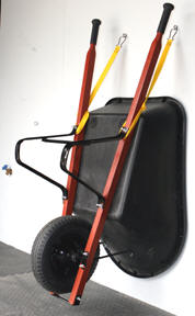 wheelbarrow storage