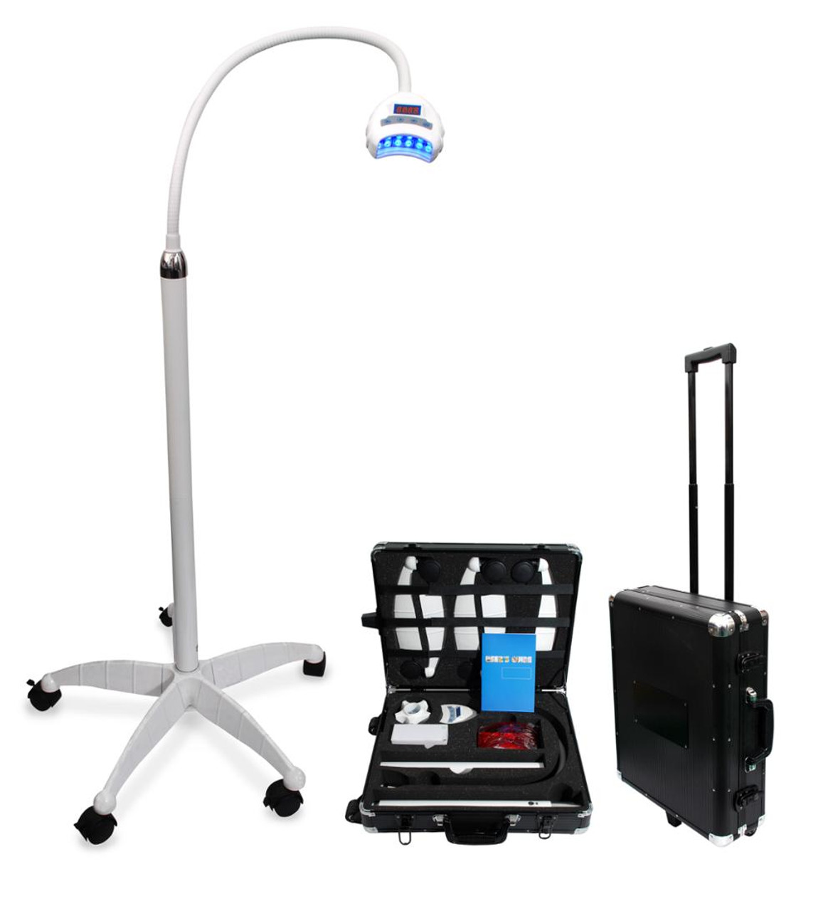 CE & FDA Approved Portable Mobile Laser Teeth Whitening Lamp Machine In-Office Teeth Whitening Light