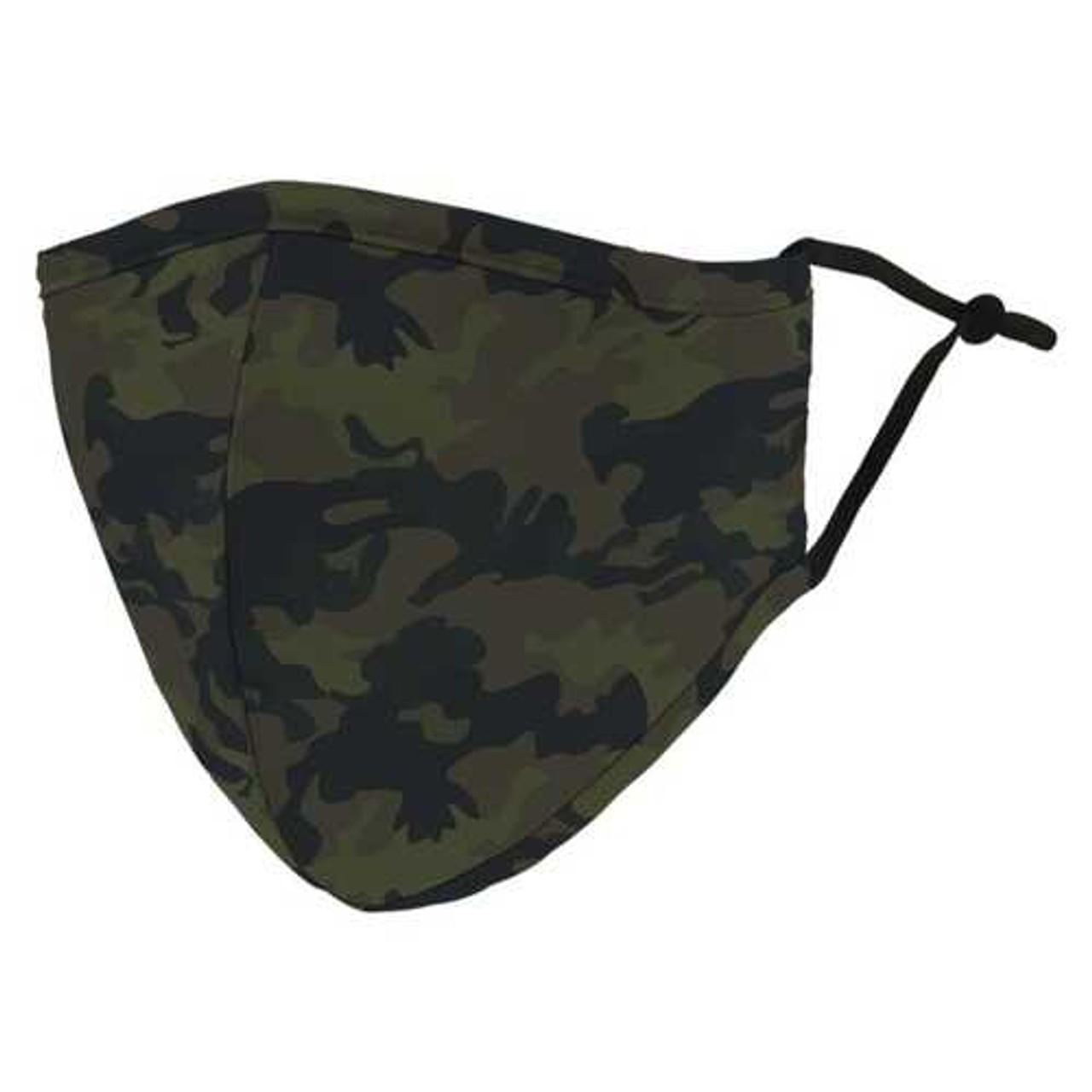 Weddingstar 5525-84 Adult Reusable/Washable Cloth Face Mask with Filter Pocket (Camo) R810-WDS552584