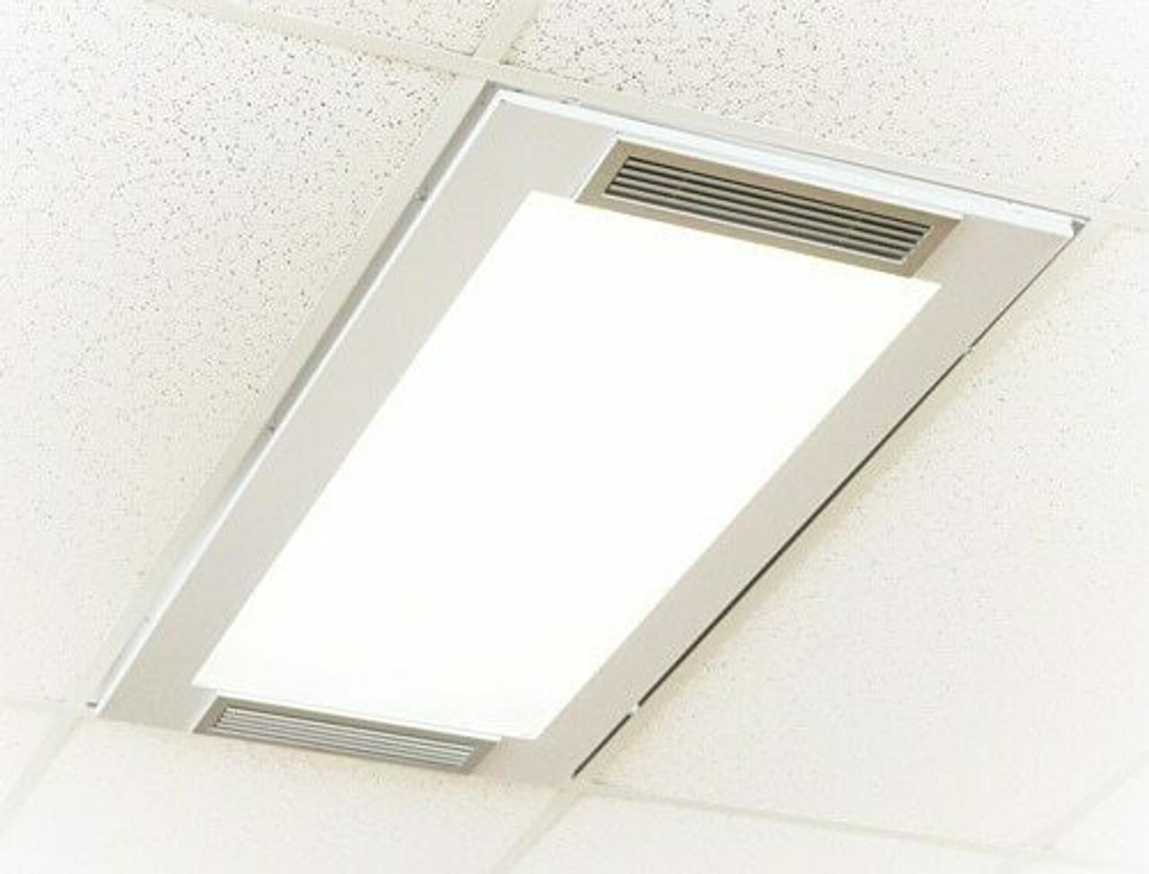 2' x 4' Troffer with LED Panel (UV24LED)