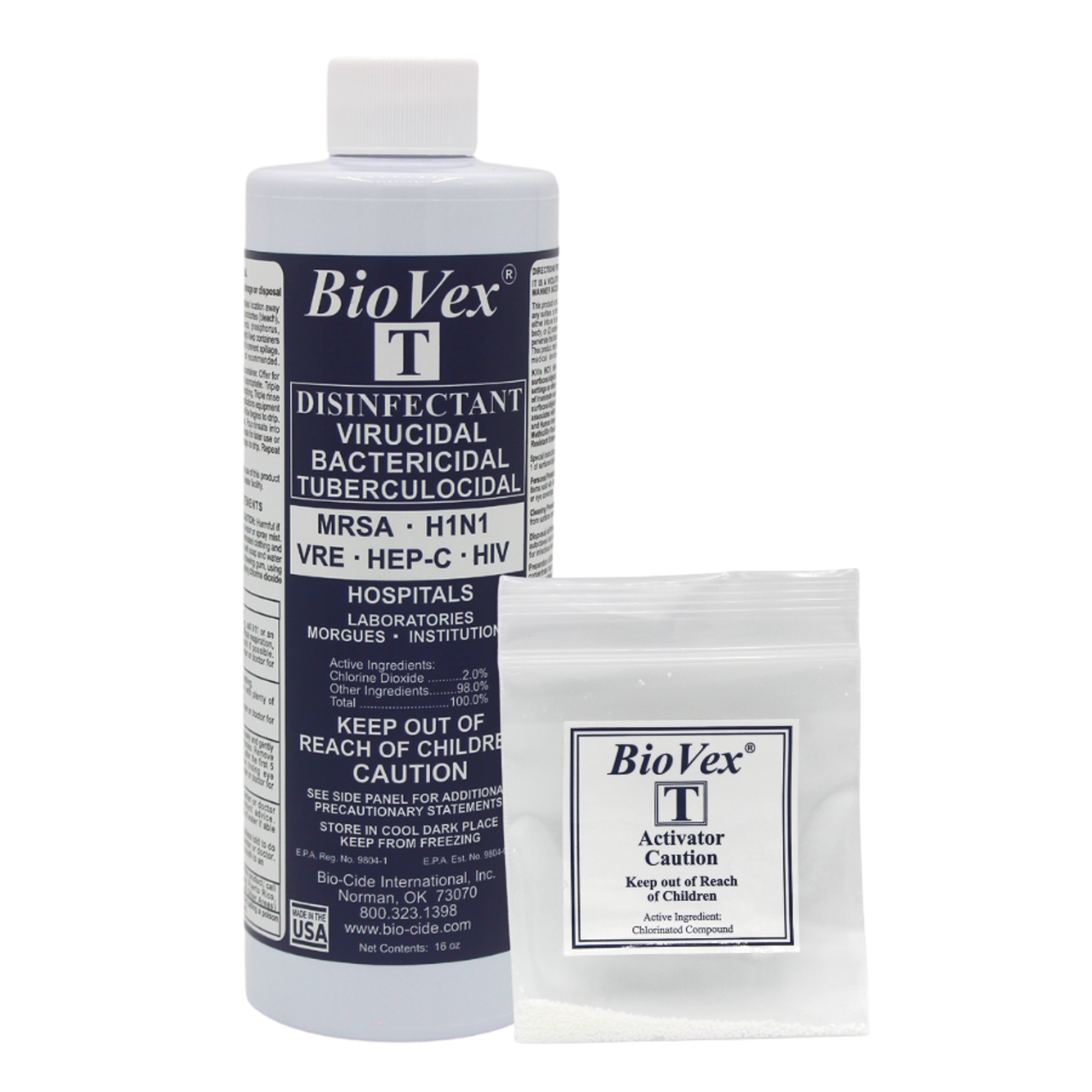 BioVex T (Chlorine Dioxide): EPA Approved COVID-19 Disinfectant