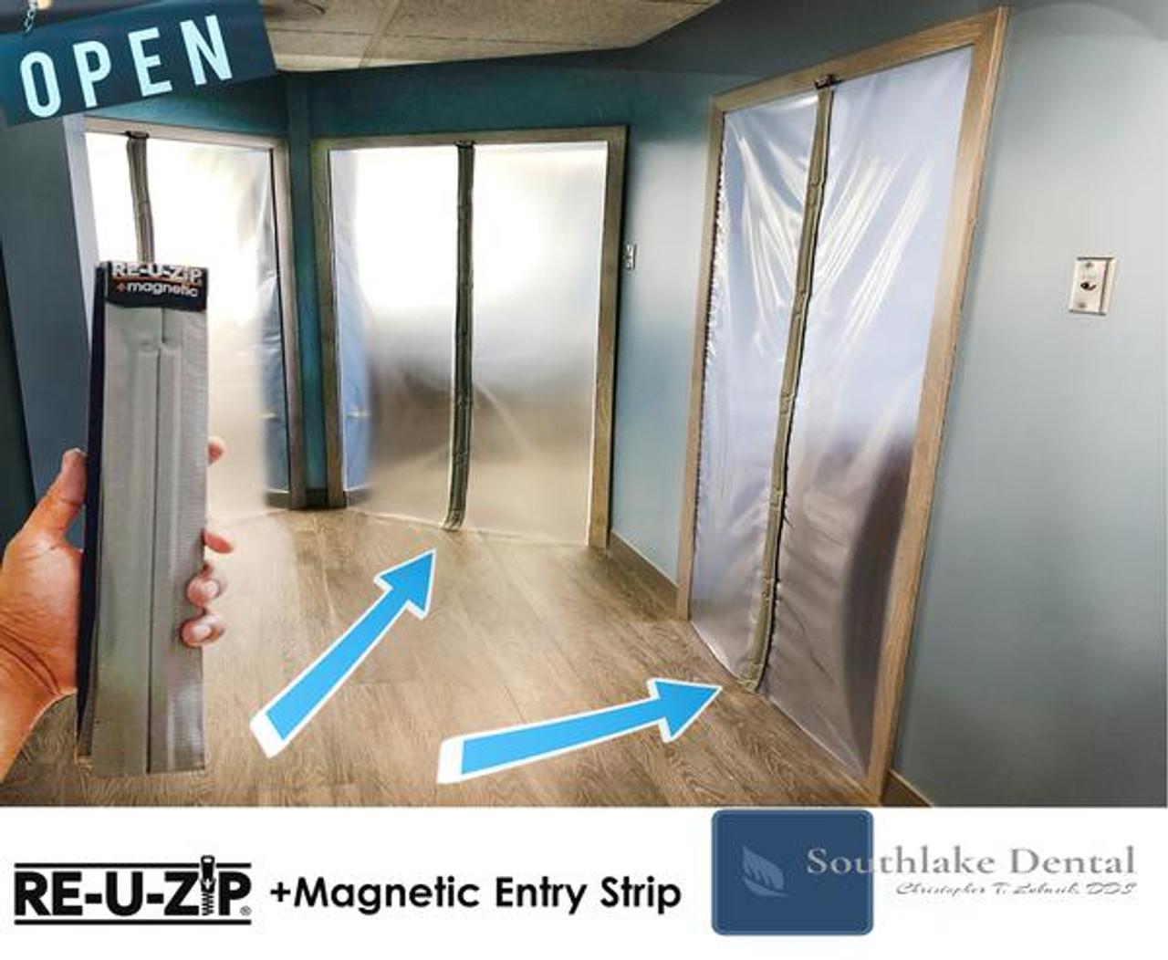 Full System Starter Bundle | Magnetic Entry Strip + Zipper Starter Kit
