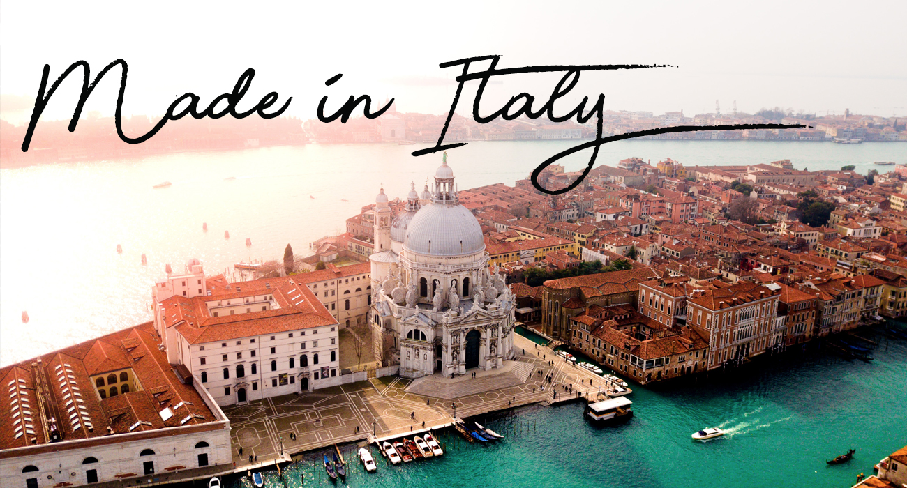 View our full Made in Italy clothing brand here