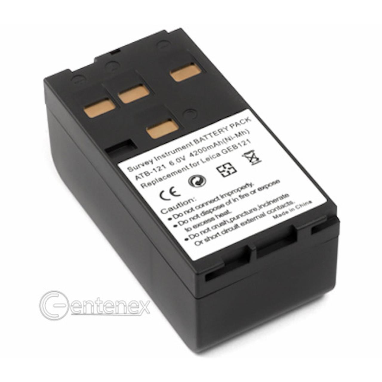 Replacement Battery for Leica 400 700 800 DNA Instruments DNA03//10 GPS500 GS50 GS50 GPS RCS1100 SR500 Part NO HITARGET BT10 BT20 Leica GEB121 GEB122