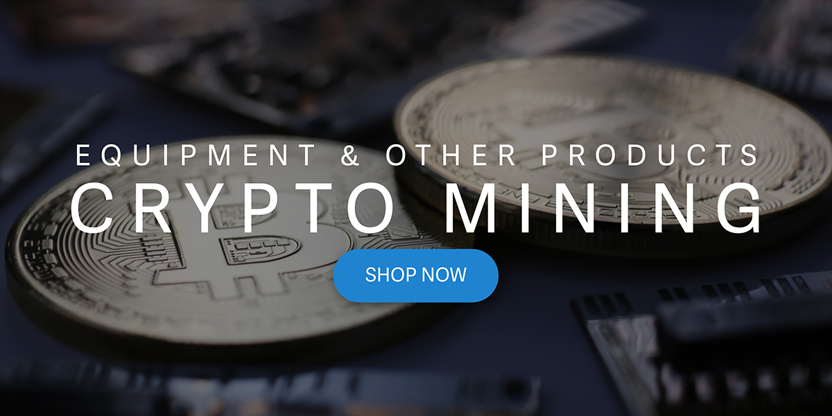 Cryptocurrency mining equipment
