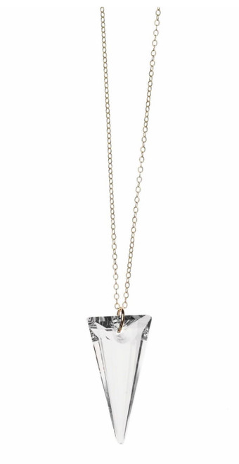 Spike Crystal Necklace
