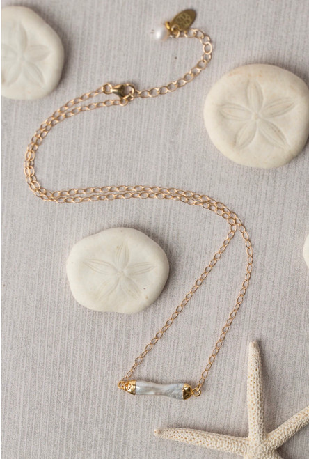 Pearl Focal Necklace