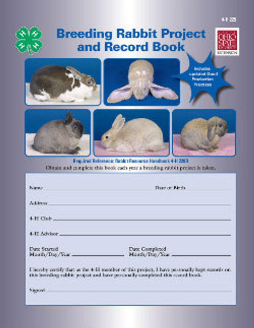 Breeding Rabbit project and record book